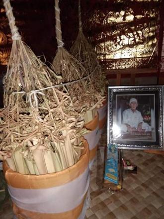 Pitra Yadnya Desa  Adat Tigawasa