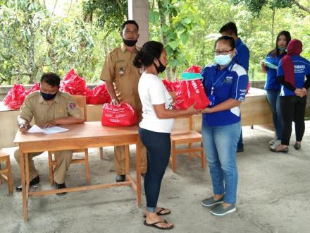 bantuan Sembako dari Maha Surya Motor